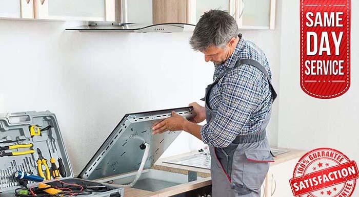 stove repair service prof