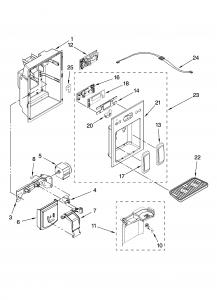 Dispenser Door Motor Scheme