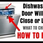 Dishwasher Door Latch Issue