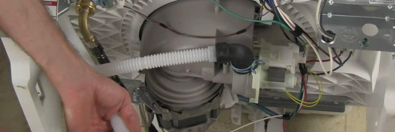 a dishwasher drain