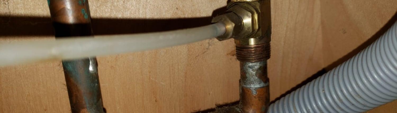 dishwasher water tube
