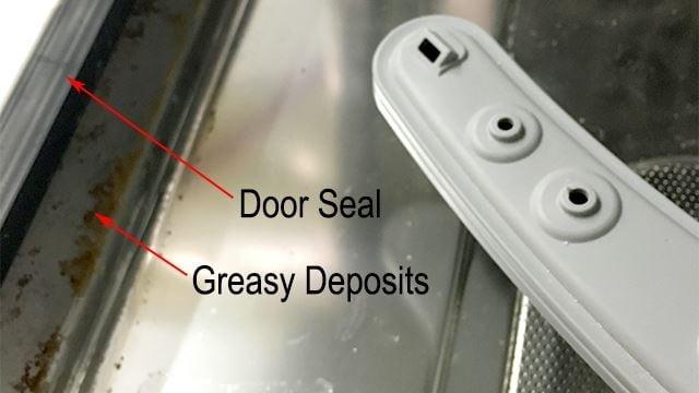 door seal leaking
