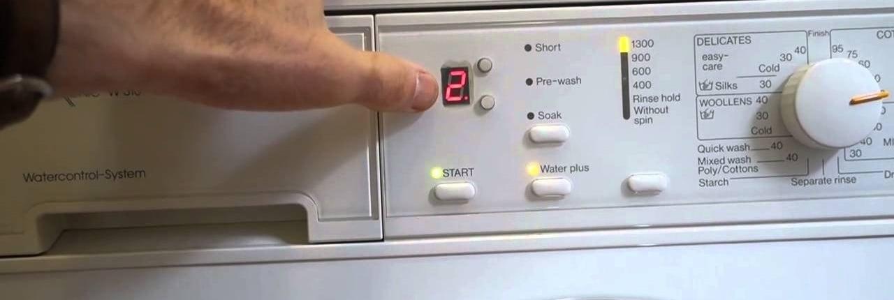 washer timer
