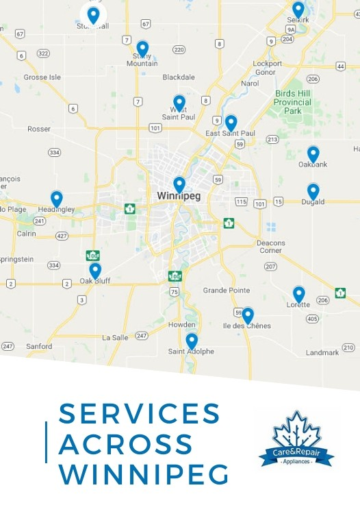 servicing Winnipeg