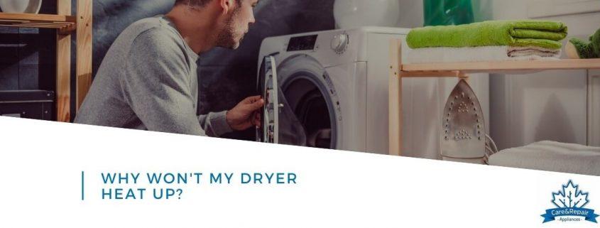 why-wont-my dryer heat up