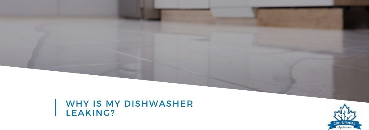 why is my dishwasher leaking